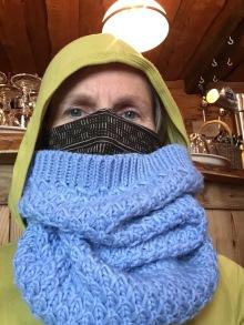 Jihadi Jane - it was freezing: -14C!