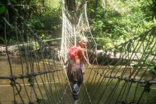 Borneo: I felt scared doing this, one slip...