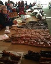 Local sausages