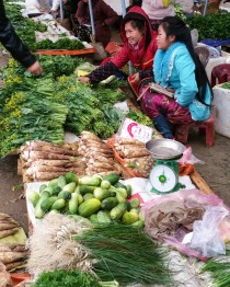 Sam Neua market