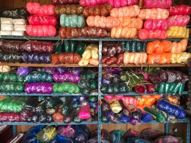 Wool for weaving