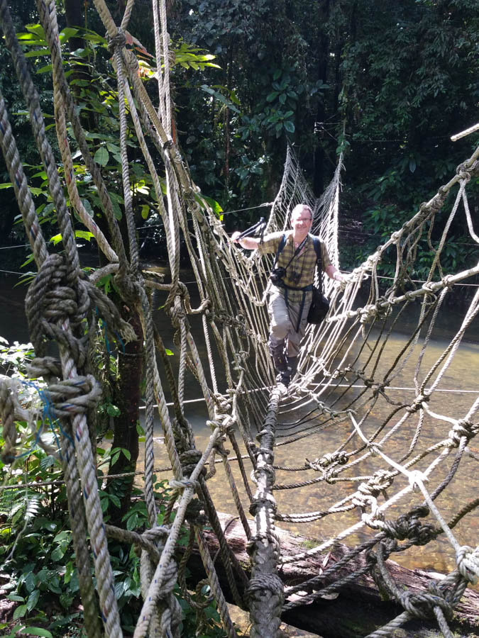 Very tricky bridge this