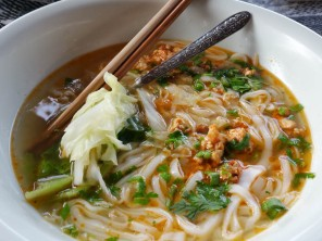 The best noodle soup in Muang Sing