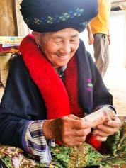 Laos:Lovely money!