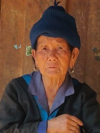 Close-up of Hmong Granny