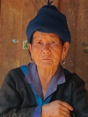 Close-up of Hmong Granny
