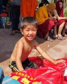 Boy in Lan Ten village
