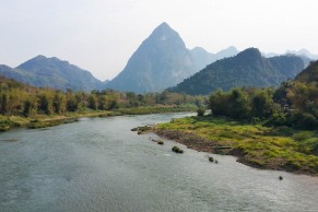 Scenery en route to Luang