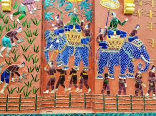Elephant mosaics