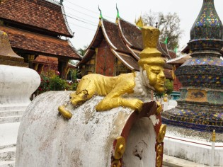 Imp in the Wat Xieng Thong