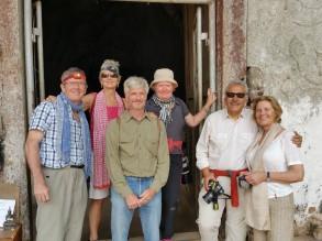 Luang Prabang: with Guy, Cindy, Diego and Christine