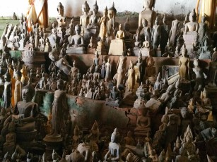A fraction of the Buddhas