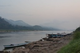 The mighty Mekong in the mist
