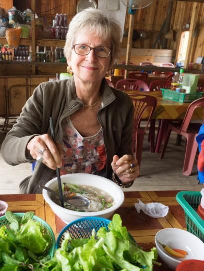 Noodle soup in Nam Neu