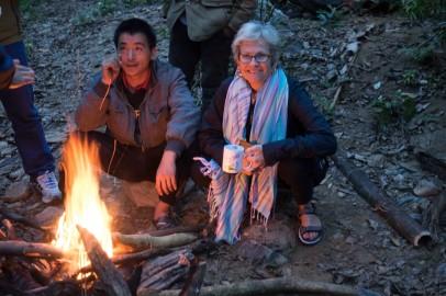 Campfire in Nam Et NPA