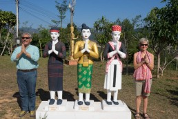 Laos: Nam Tha temple
