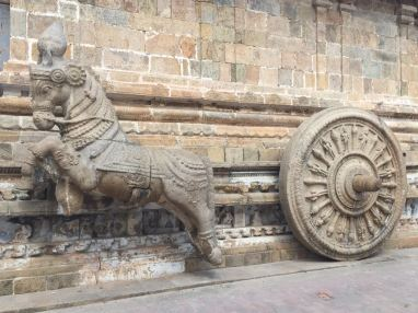 Horse and chariot - 9 century