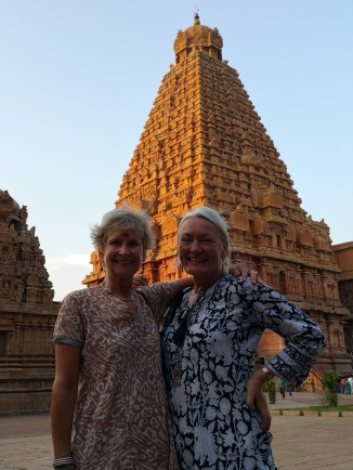 Girl power in Tanjore