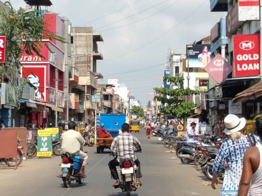 Tamil quarter in Pondi