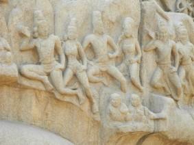 Bas reliefs, Mamallapuram