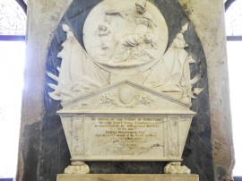 East India Company wall memorial