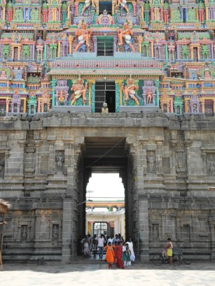 The great gate, Nataraja temple