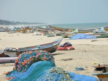 Beach at Mamallapuram