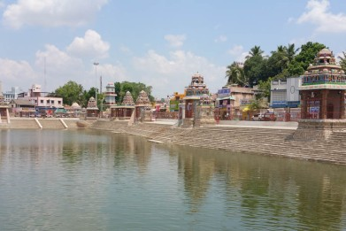 The tank at Kumbakonam