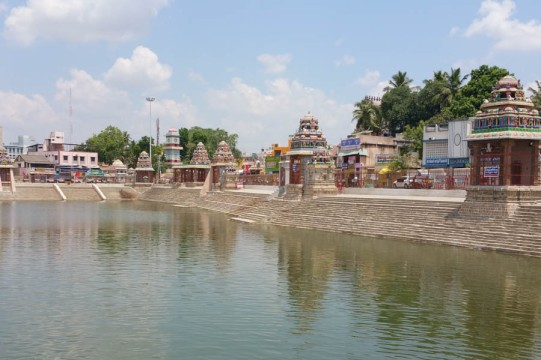 The tank at Kumbakonam