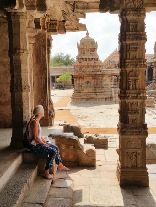 Tamilnadu: Hilary contemplates the architecture