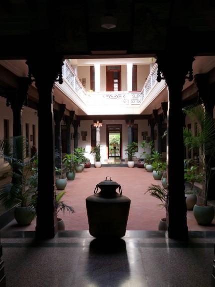 Courtyard at Visalam