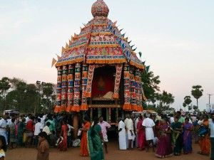 The central shrine