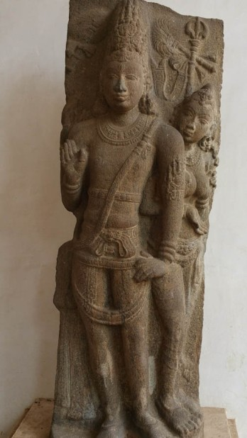 Chola deity carving
