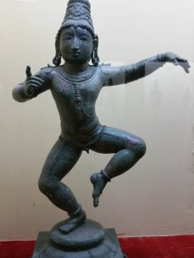 Bronzes in the Tanjore Palace museum
