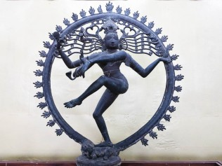 The Nataraja or dancing Shiva