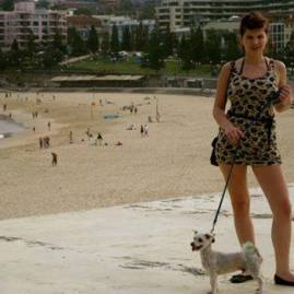 Louise on Coogee Beach