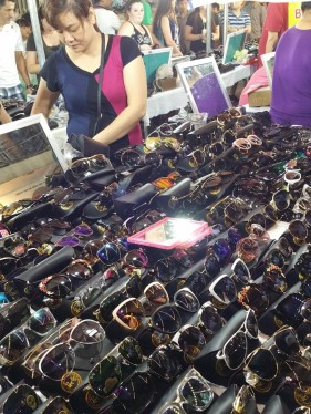 Lots of Ray Bans - or are they?