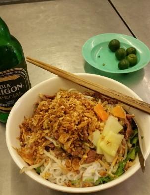 Bun Bo Nam Bo noodles