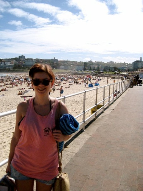 Louise on Coogee