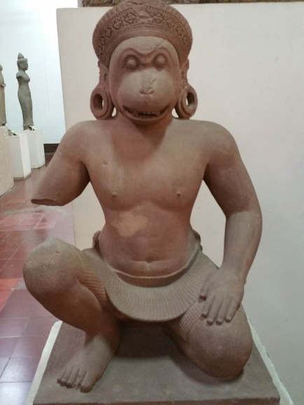 Lovely Champa (?) monkey god