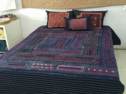 My Hmong quilt and cushion covers