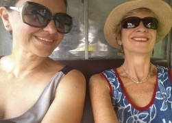 Phnom Penh: Tuk tuk selfie w Sabiha