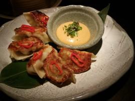 Special dumplings at Sake