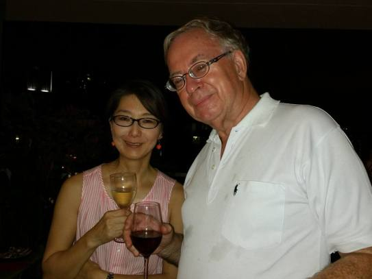 Sachiyo Hori and Hugh Ellerton