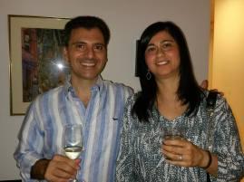Mario and Farhana Aquino