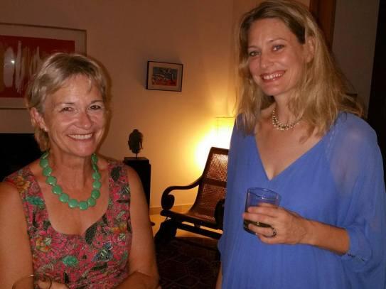 Carolyn Pottinger and Christina Benson