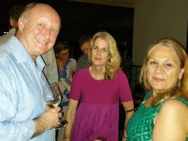 David Palmer (ex Queens w Ross) Fiona Pearson and Vasso Hadwen