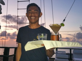 Jun with the Margherita!