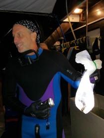 A new species! The playboy eel!