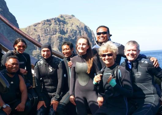 l-r Steve, Andrea, Mark, Yan , Little Eira, Handriy, me and Ross